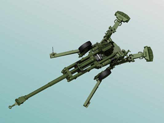 M777a2 1 50 Scale Desktop Model